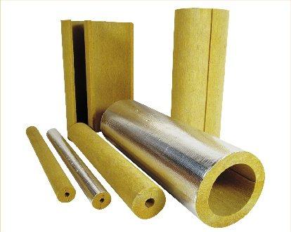 Минераловатные цилиндры для труб разного диаметра