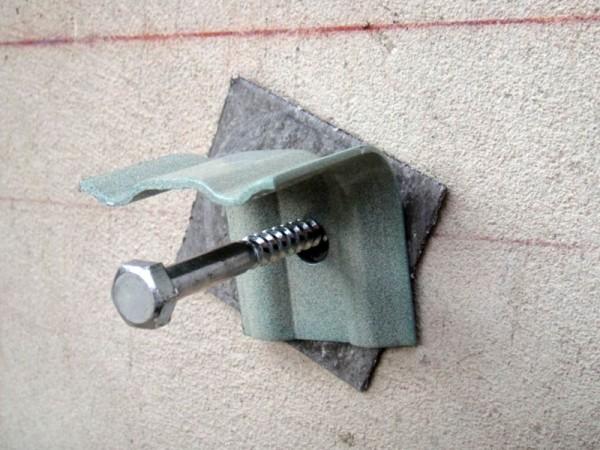 Монтаж кронщтейна к стене