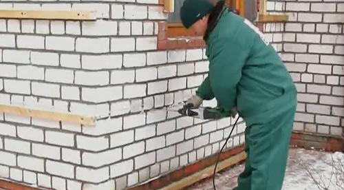Монтаж обрешётки