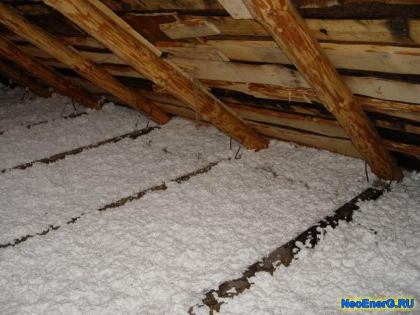 Монтажная пена для защиты дома от холодов