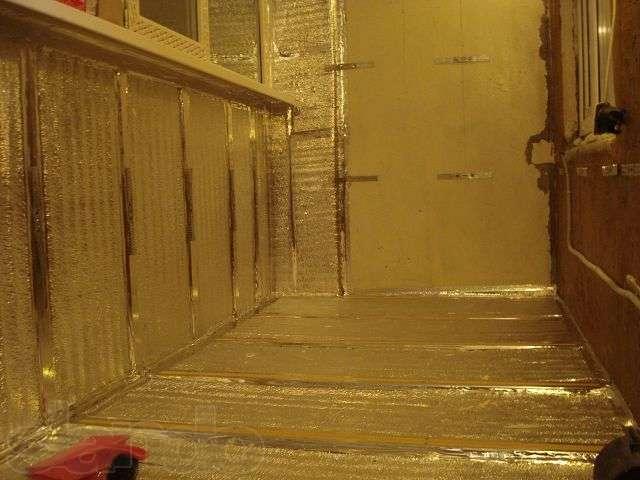 """Утепляем балкон своими руками """"МастерРемонта """"- ремонт квартиры своими руками"""