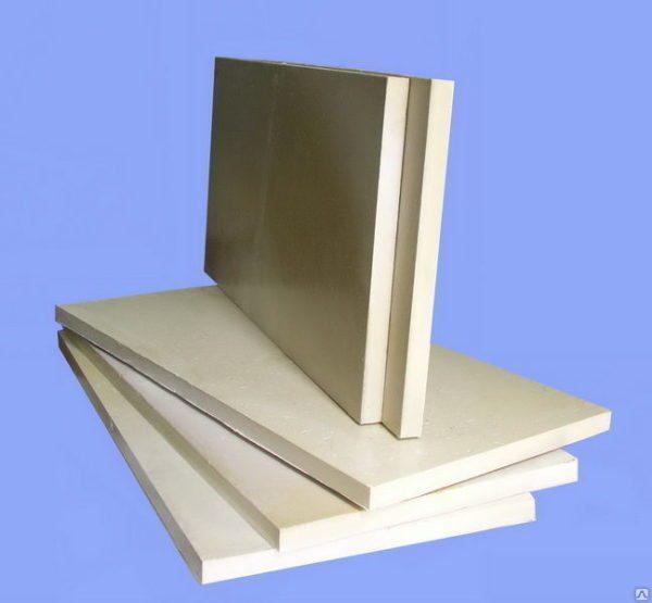 На фото пенополиуретановые плиты — универсальный теплоизоляционный материал