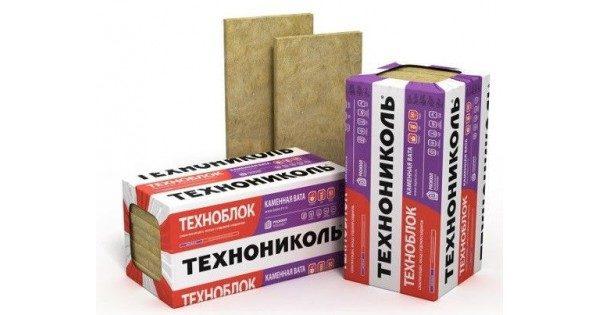 На фото Техноблок от Технониколь — эффективный утеплитель на основе базальта