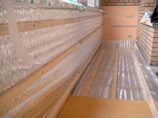 Утеплитель для балкона, как выбрать наиболее эффективный его тип