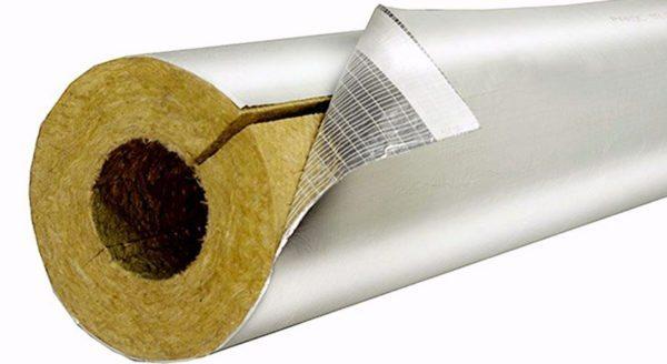Наружная часть изделия для дополнительной защиты может быть покрыта алюминиевой фольгой.