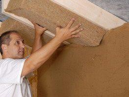 Натуральный утеплитель для потолка