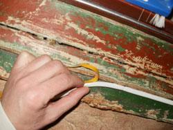 Необходимо тщательно изолировать все щели и зазоры в рамах и коробках