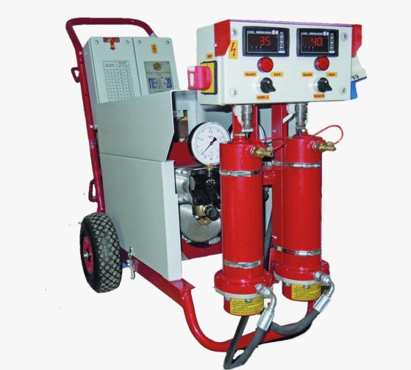 Оборудование для напыления ППУ.