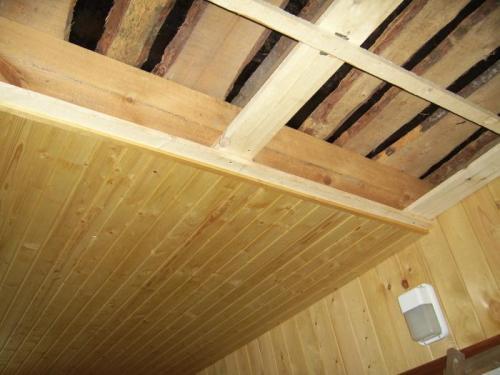 Обрешетка деревянными рейками