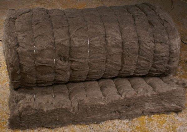 Огнестойкий мат из базальтового волокна.