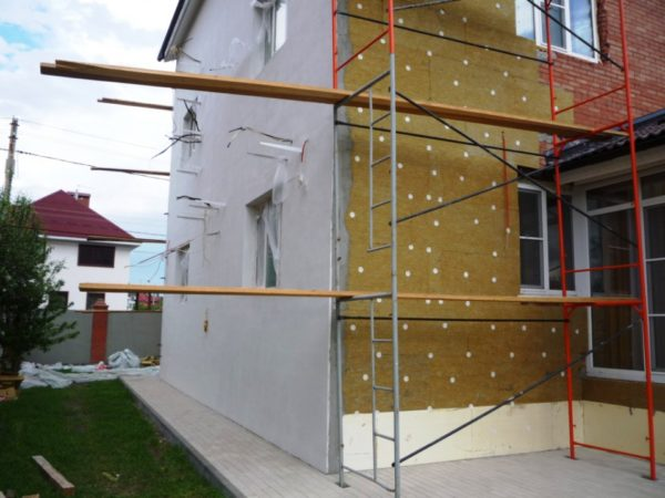 Elegant Plastering Wall Insulation