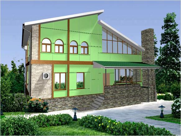 Отделка и утепление фасадов – рациональное решение к комфорту в доме