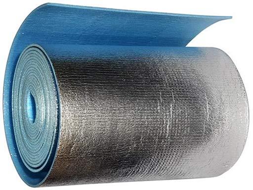 Отражающий материал позволяет добиться эффекта термоса на балконе