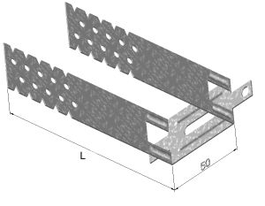 П-образный подвес-кронштейн