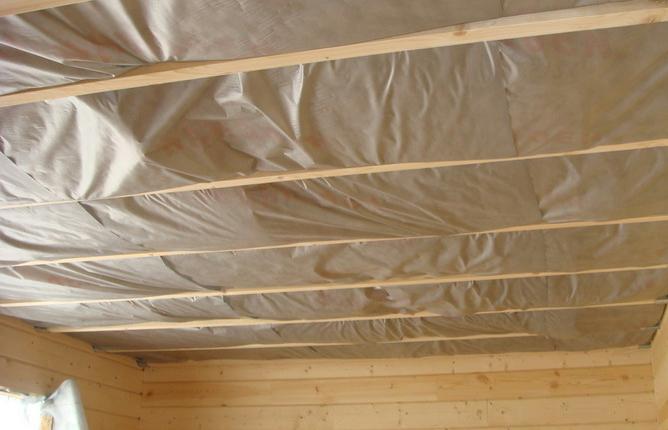 Паробарьер защитит утеплитель от влаги.