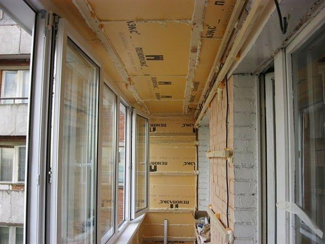 Остекление и отделка балконов и лоджий в одинцово.