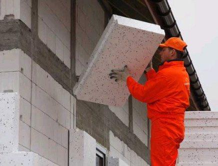 Пенопласт - чем утеплить стены снаружи
