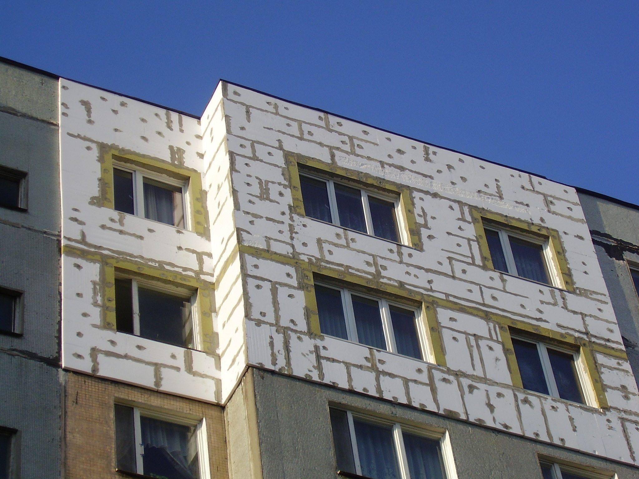 Фасадный утеплитель: базальтовый, декоративный, плитка, совр.