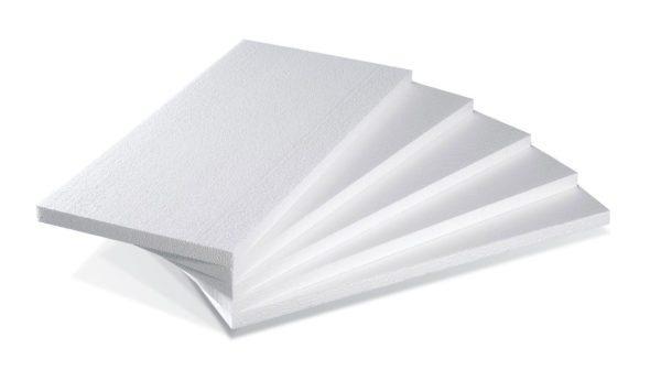 Пенопласт очень легкий, что очень важно при утеплении конструкций с небольшой прочностью