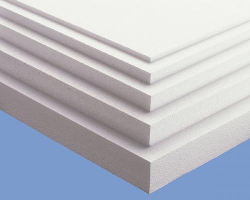 Пенопластовые панели разной толщины