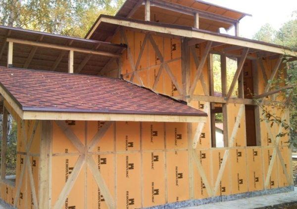 Пеноплекс стена можно использовать для утепления каркасных стен