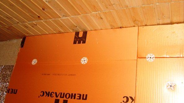 Пеноплекс Стена можно использовать для внутреннего утепления стен