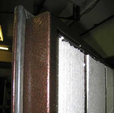 Пенополистирол можно применять только для закрытых металлических конструкций