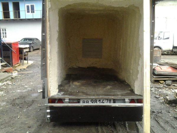Чем утеплить фургон цельнометаллический своими руками