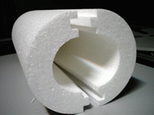 Пенополиуретановая скорлупа.