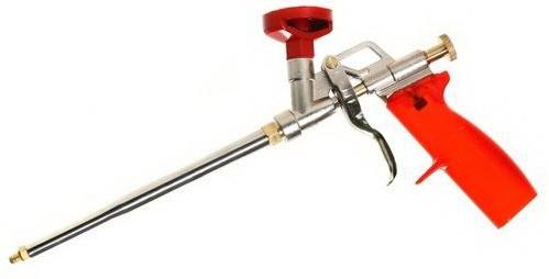 Пистолет для профессиональной монтажной пены.