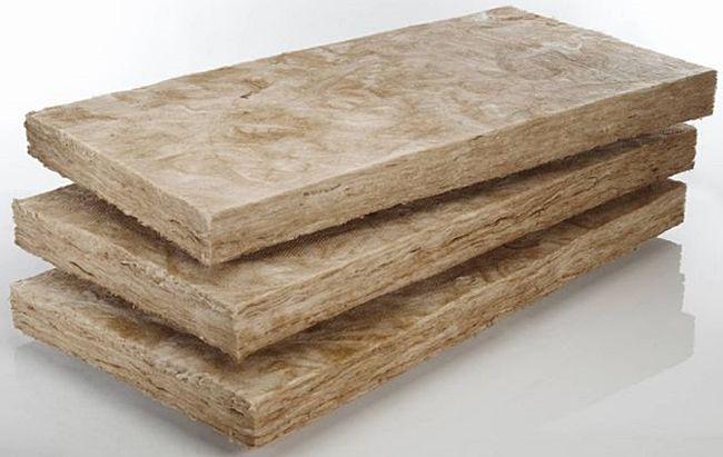 Плиты базальтовой ваты