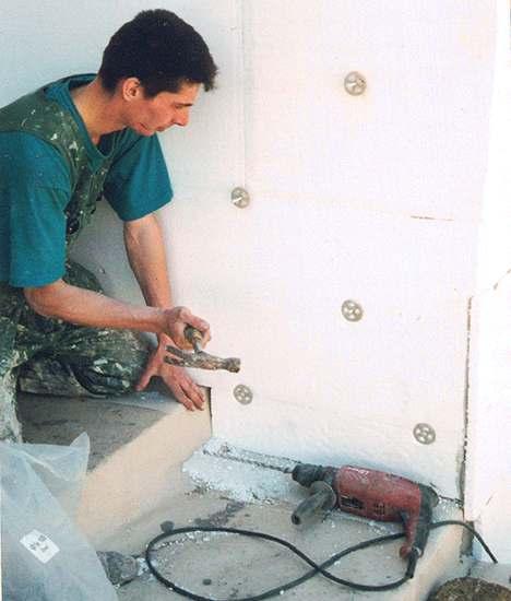 Плиты для внутренней теплоизоляции должны выдерживать механическую нагрузку