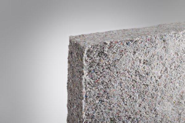 Плиты из целлюлозного волокна используются так же, как и минеральная вата