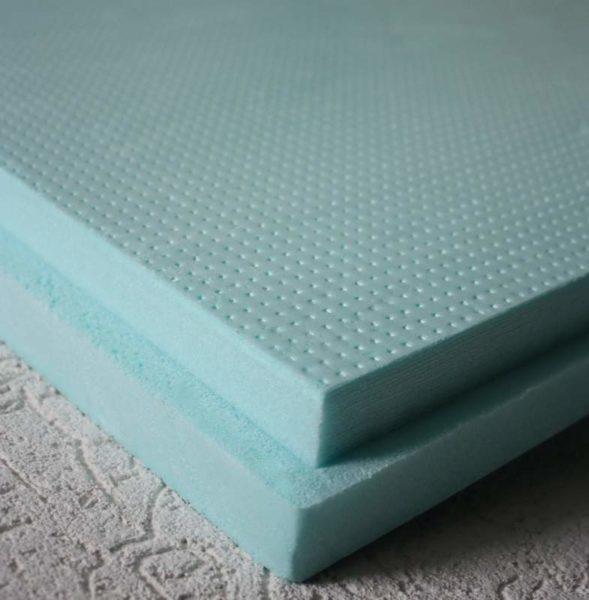 Плиты Пеноплекса плотно соединяются друг с другом благодаря специальной форме торцов