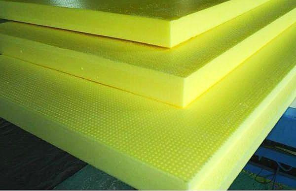 Плиты поливинилхлоридного пенопласта