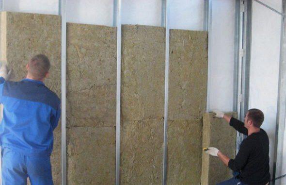 Плиты Роклайт можно использовать для внутреннего утепления стен