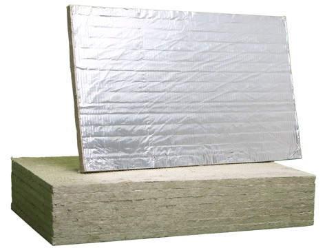 Плиты Сауна Баттс покрыты с одной стороны фольгой, что позволяет им отражать тепло