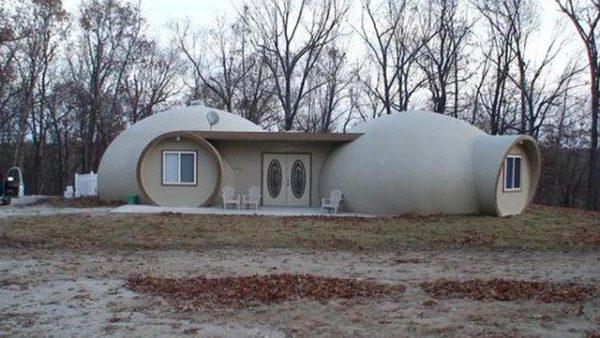 Площадь купольных домов можно расширять путем строительства пристроек