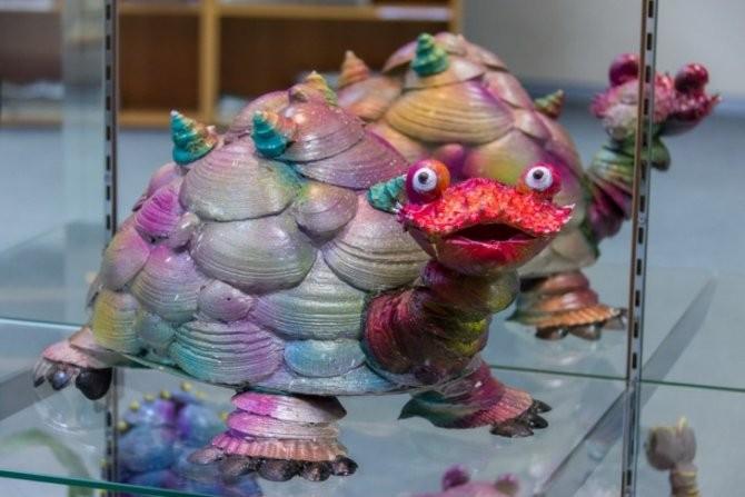 Уникальные поделки из морских ракушек фото