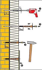 Порядок монтажа теплоизоляции стены своими руками