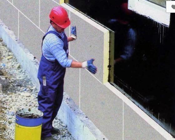 ППУ плиты можно использовать для утепления фундаментов и цоколей