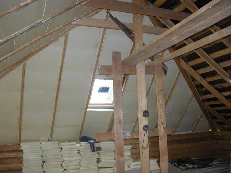 ППУ плиты можно использовать для утепления крыши