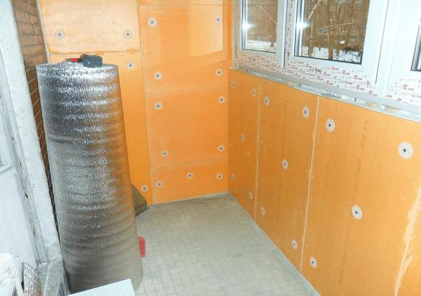 Пример расположения дюбелей в пеноплексе