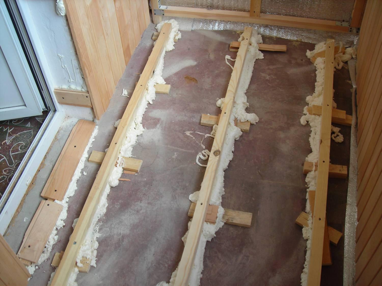 Чем покрыть деревянный пол на лоджии своими руками.