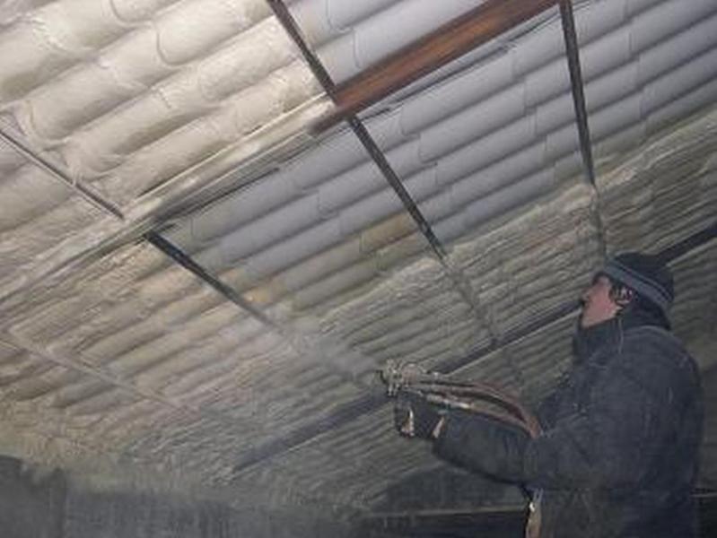 Пример утепления крыши из профнастила