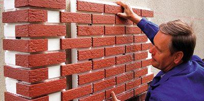 Принцип установки панелей на стены