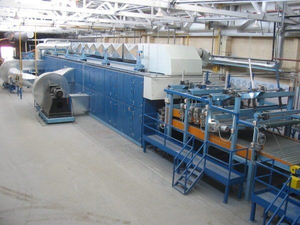 Производство качественного звукоизоляционного материала производится на специальных линиях, контролируемых компьютером