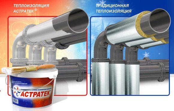 Простота применения, скорость нанесения и чистота работы – главные достоинства такой теплоизоляции.