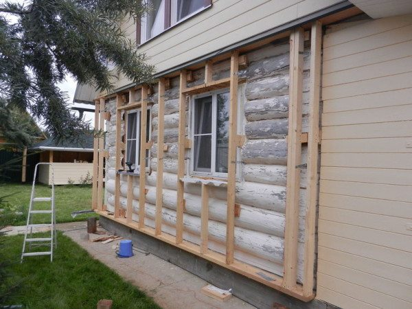 Процесс создания вентилируемого фасада