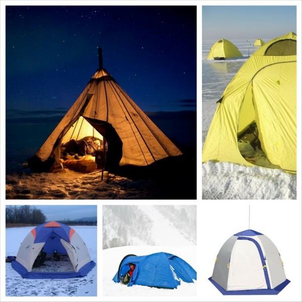 Разновидности зимних палаток
